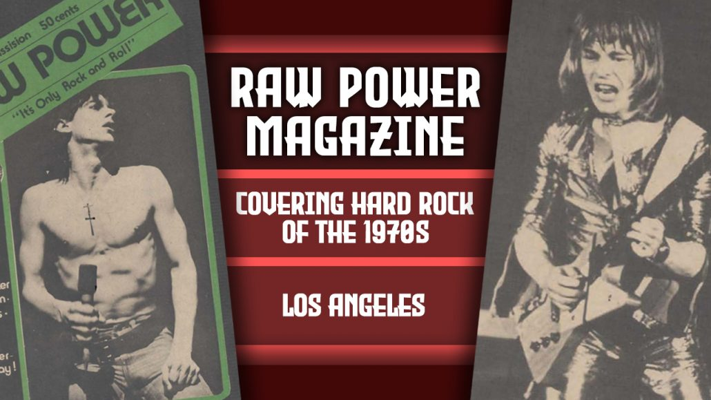 RAW POWER MAGAZINE